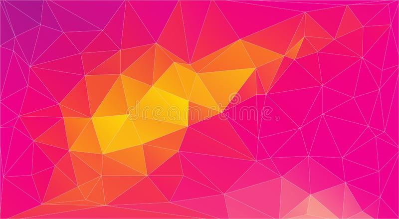 Abstract color Triangle Background, Vector EPS vector illustration