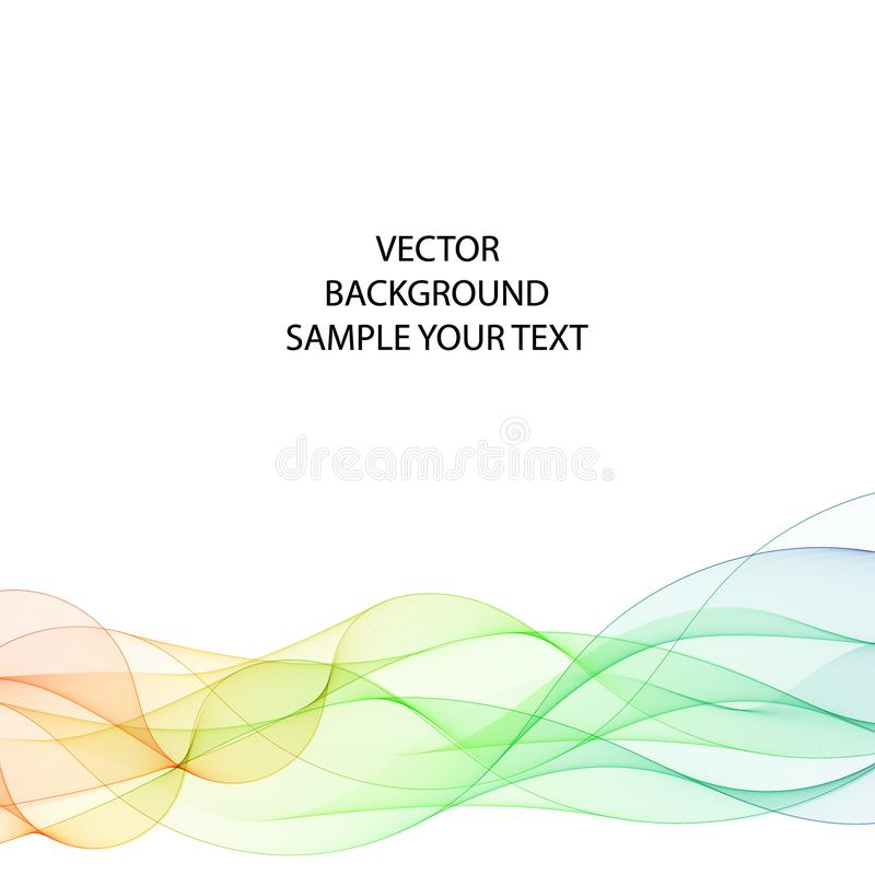 Abstract color wave with shadow. design for business idea. layout for presentation. eps 10 vector illustration