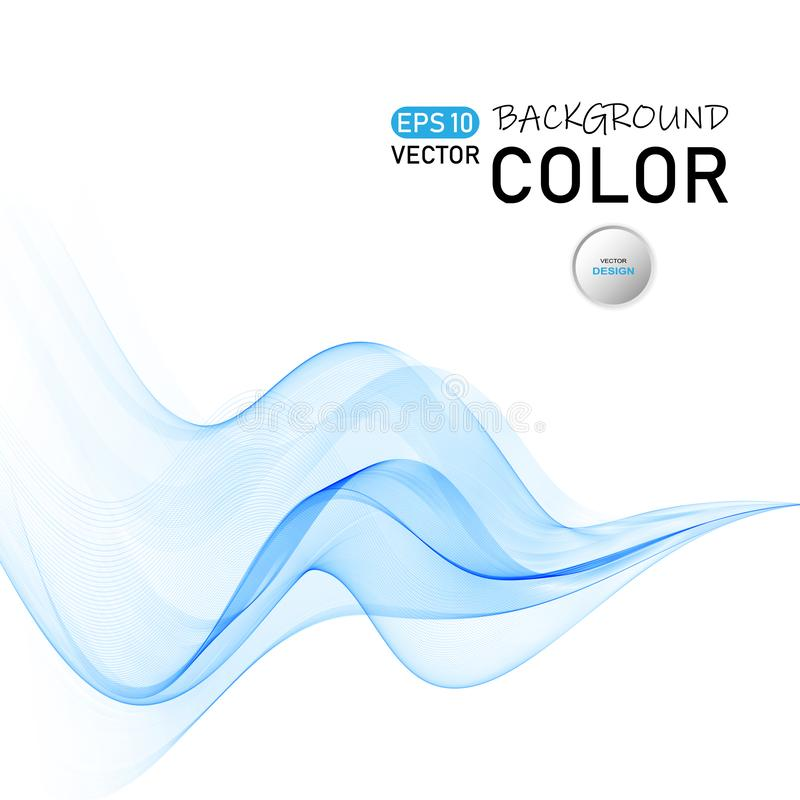 Abstract color wave vector. Curve line dynamic flow. Eps10 vector illustration vector illustration