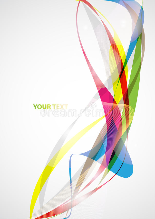 Abstract colored background stock illustration