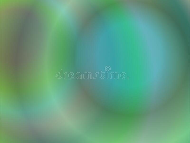Abstract colored background cirlce and ring. green tones royalty free stock images