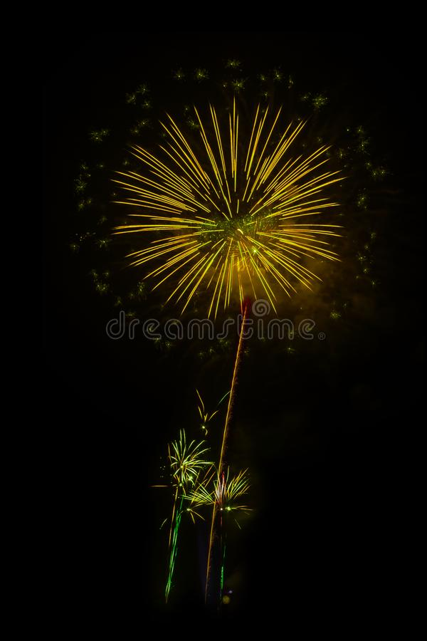 Fireworks light up the sky. Abstract colored firework background,Fireworks light up the sky stock image