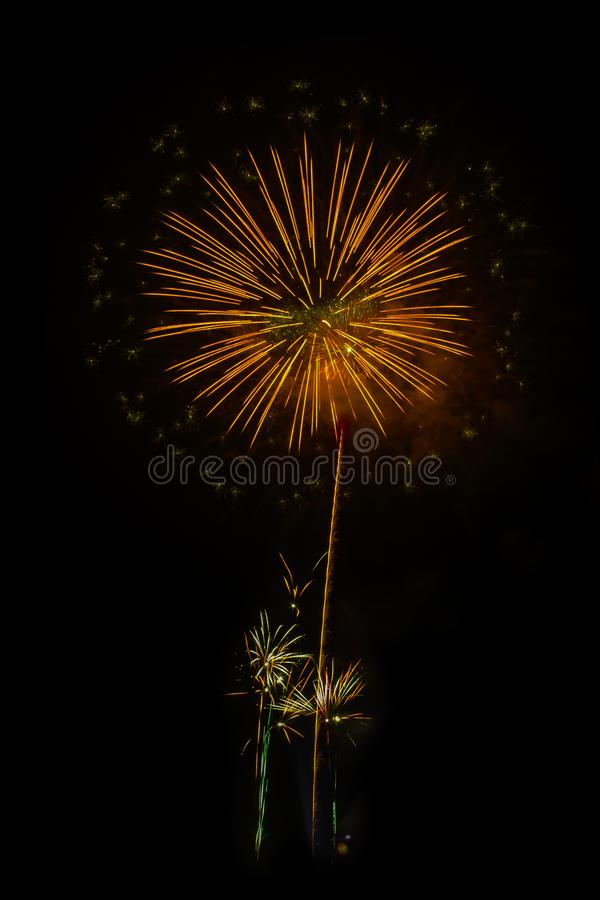 Fireworks light up the sky. Abstract colored firework background,Fireworks light up the sky stock images