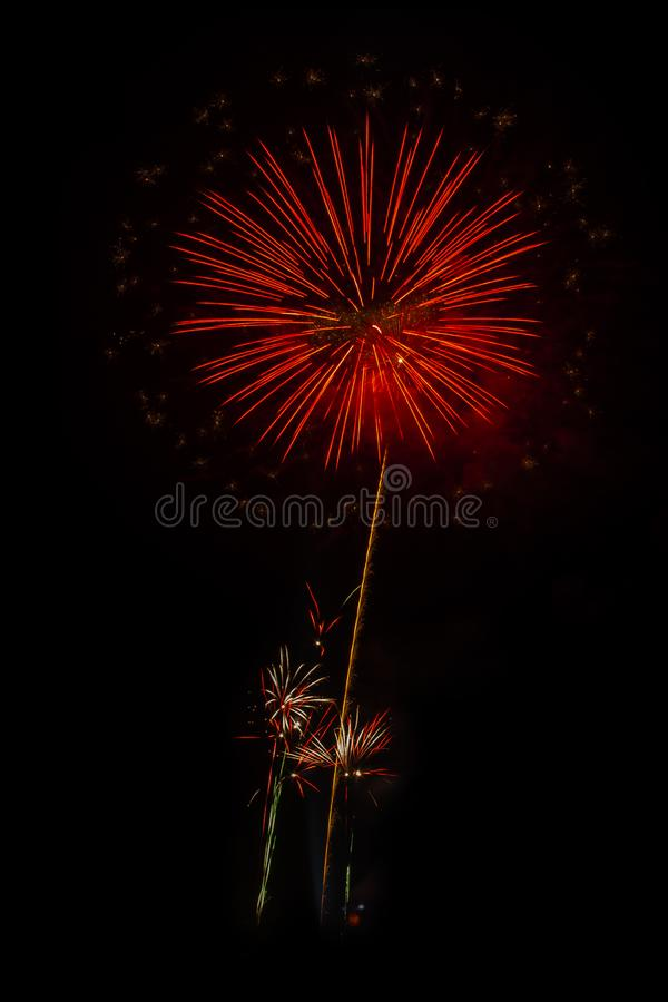 Fireworks light up the sky. Abstract colored firework background,Fireworks light up the sky stock photos