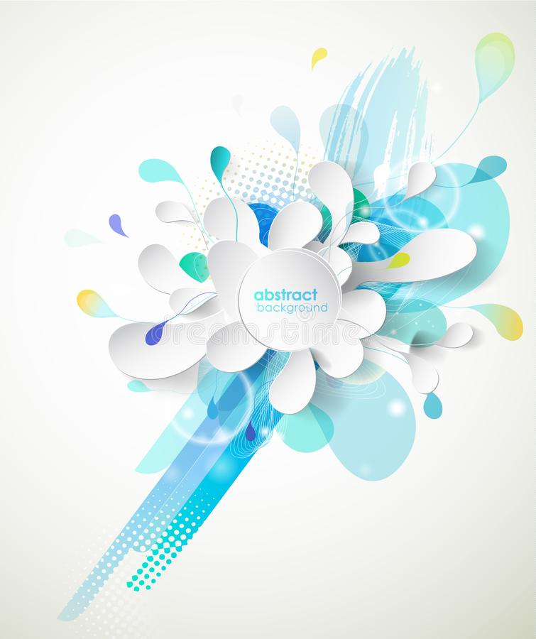 Turquoise Circles Vector Art Stock Vector Illustration