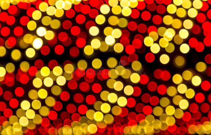 Abstract Colored Lights Bokeh Background royalty free stock photography