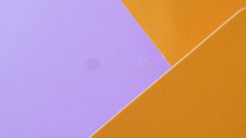 Abstract colored paper texture minimalism background. Minimal geometric shapes and lines in pastel colours royalty free stock photo