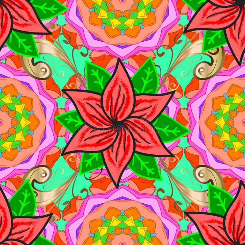 Abstract colored picture vector illustration