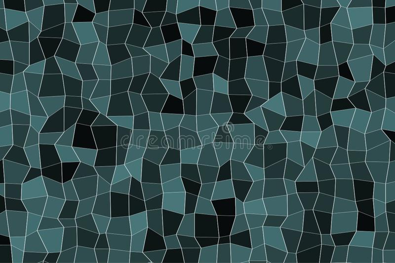 Abstract colored rectangle strip shape pattern. Illustration, white, wallpaper & details. royalty free illustration
