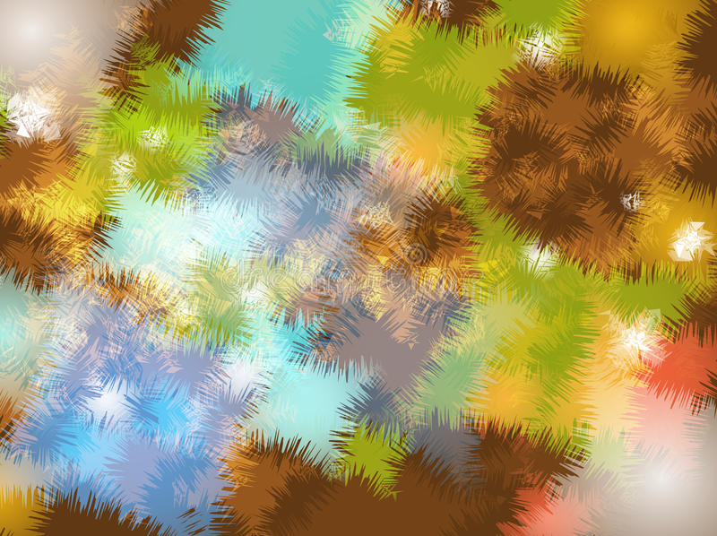 Abstract colorful art background Design royalty free illustration