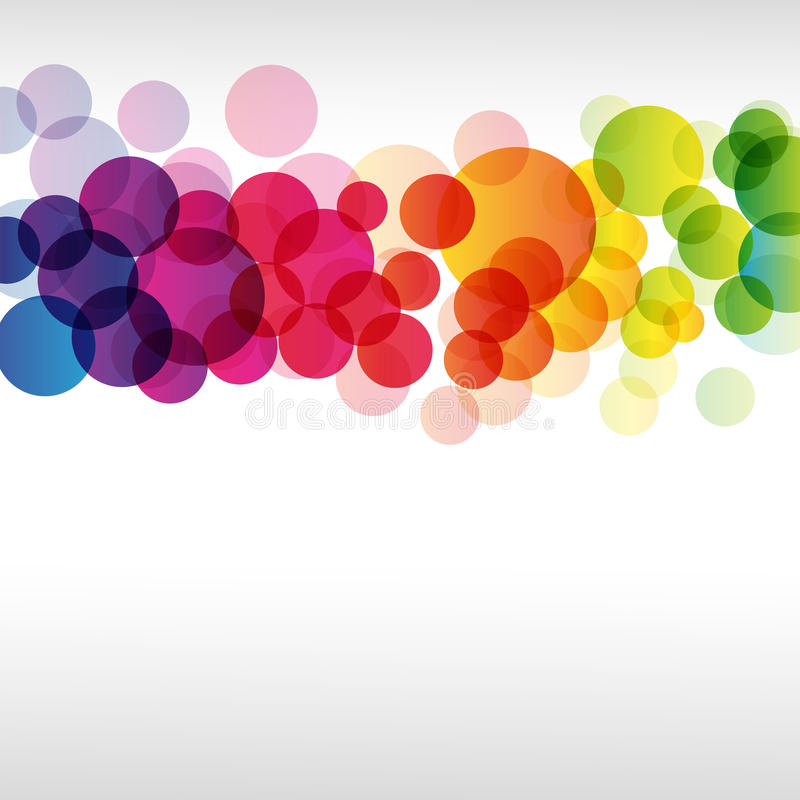 Abstract colorful background. stock illustration