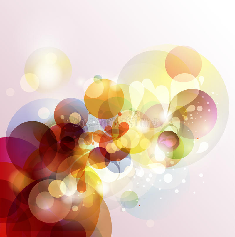 Abstract colorful background. royalty free illustration