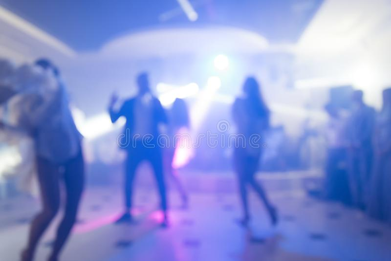 Abstract colorful background for design. Dance party in nightclub, show, light spotlights royalty free stock photos