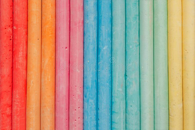 Abstract colored chalk background texture royalty free stock photography