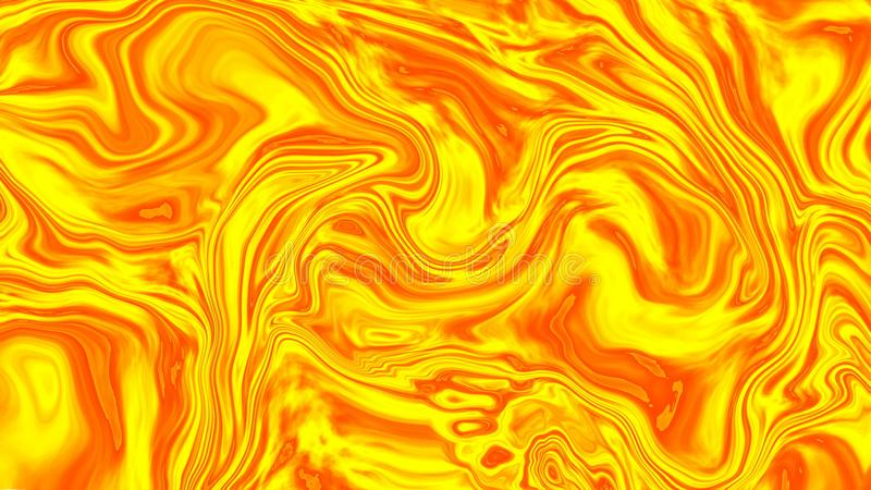 Abstract colorful background of gradient with visual illusion and wave oil effects, 3d rendering. Computer generating stock illustration
