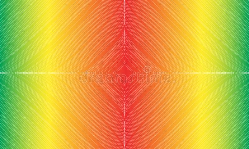 Abstract colorful background with lines and stars. Vector illustration. EPS10 stock illustration