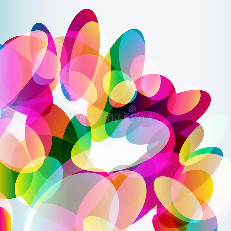 Abstract colorful background made of transparent elements. Abstract colorful  background made of transparent elements. Vector vector illustration