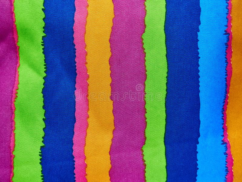 Abstract colorful background, rainbow stripes on the texture. stock image
