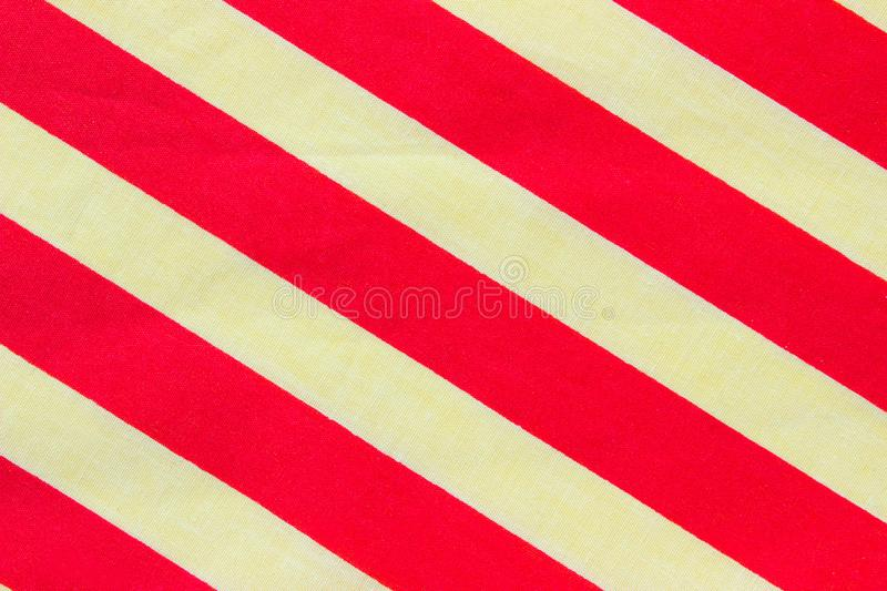 Cropped Shot Of Red And White Stripes Textile Texture. Colorful Fabric Texture. Abstract Colorful Background Textures. Cropped Shot Of Red And White Stripes vector illustration