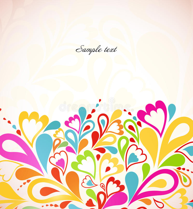 Abstract Colorful Background Vector Illustration Stock