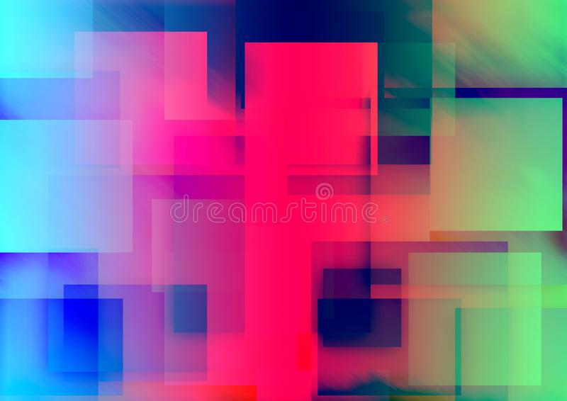 Abstract Colorful Blur background Design. royalty free stock image