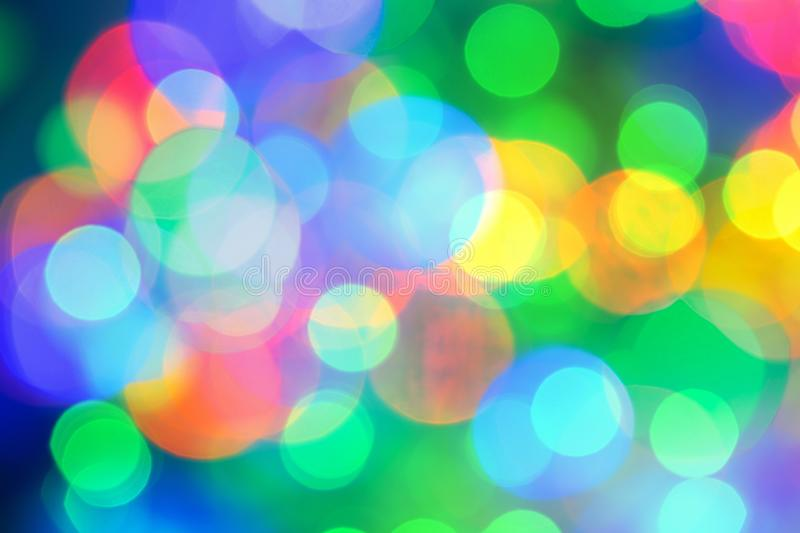 Abstract colorful bokeh background for Christmas xmas, Happy new year 2020, festive, event, happy birthday, celebration, stock photo