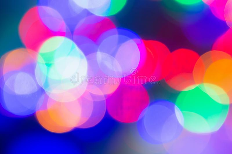 Abstract colorful bokeh background for Christmas xmas, Happy new year 2020, festive, event, happy birthday, celebration, royalty free stock images