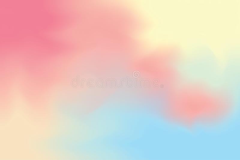 Abstract colorful bright color paint brush art background, multi colorful painting art acrylic water color wallpaper pastel stock photography