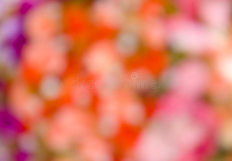Abstract colorful bubble background from flowers royalty free stock images
