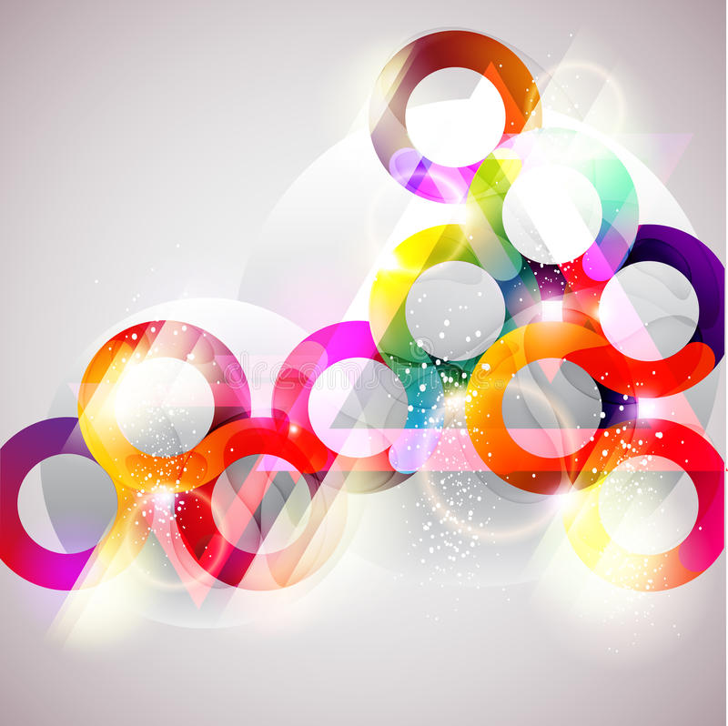 Abstract colorful circle. vector illustration
