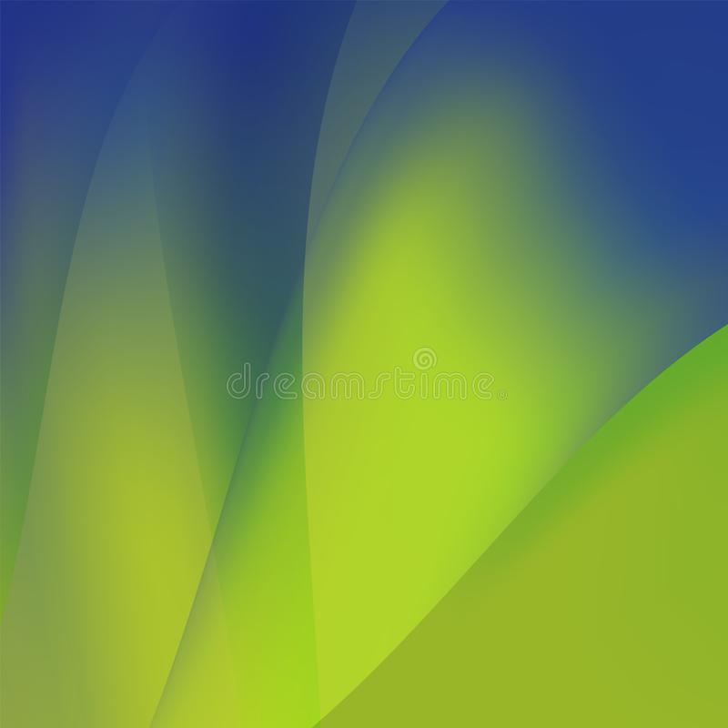 Free Abstract Colorful Curving And Smooth Flow Background, Vector Royalty Free Stock Photography - 160335277
