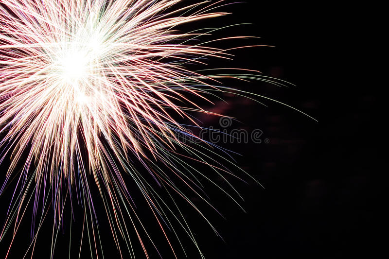 Download Abstract Colorful Fireworks With Various Colors On Dark Night Backgrounds Stock Image - Image of design, wallpapers: 52013573