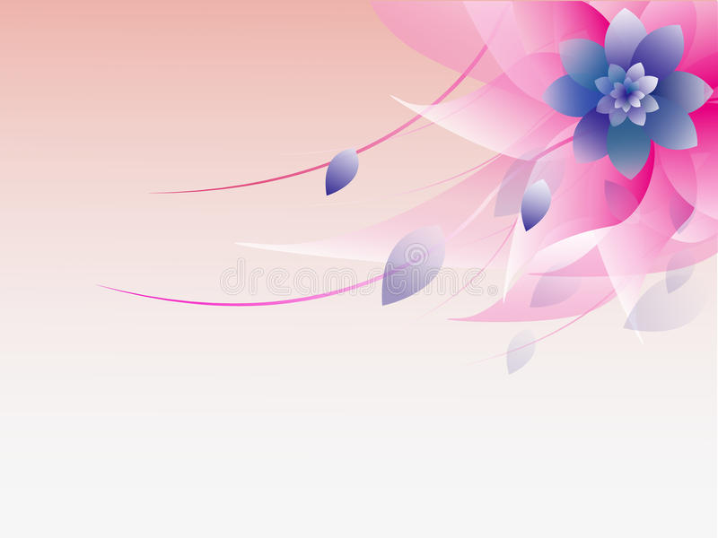 Abstract colorful floral background. EPS10 stock illustration