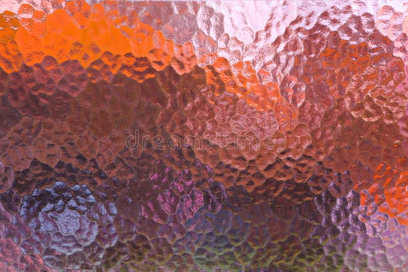 Abstract Colorful Frosted Glass Window Texture. And Background royalty free stock photography