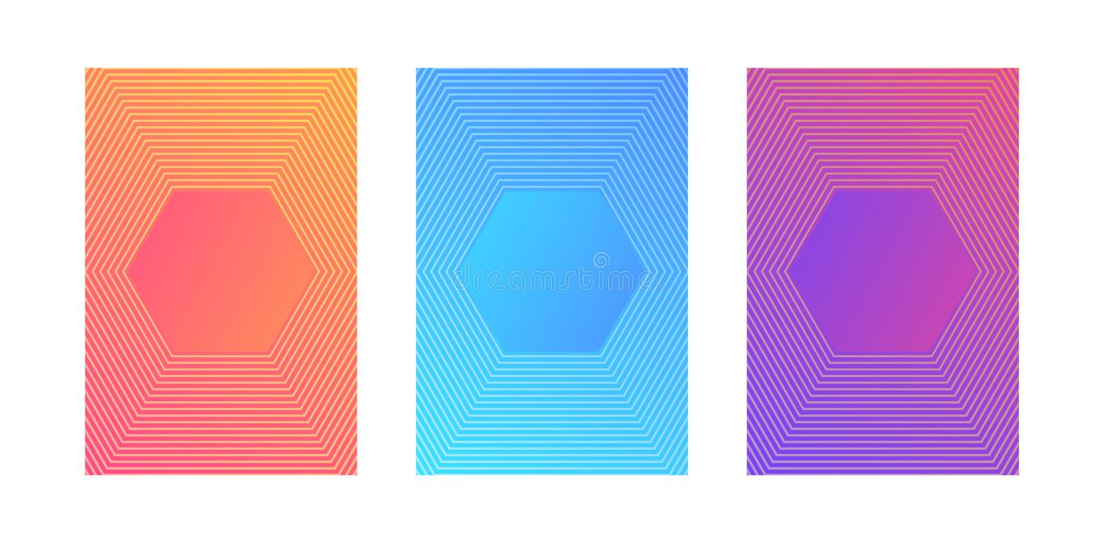 Abstract Colorful Gradient Background .Vector Illustrator royalty free stock photo