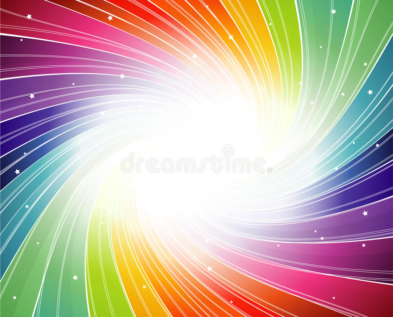 Abstract colorful illustration. royalty free illustration