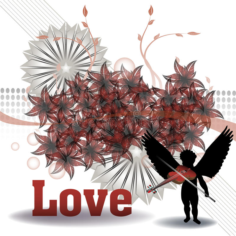 Love design royalty free stock images