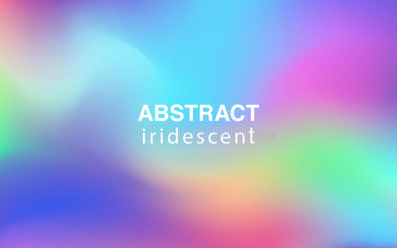 Abstract colorful iridescent background rectangular composition. Abstract iridescent background rectangular composition royalty free illustration