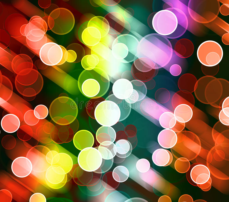 Abstract colorful light background royalty free illustration