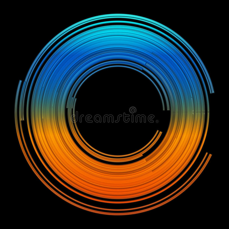 Abstract Colorful Lines Vector Design