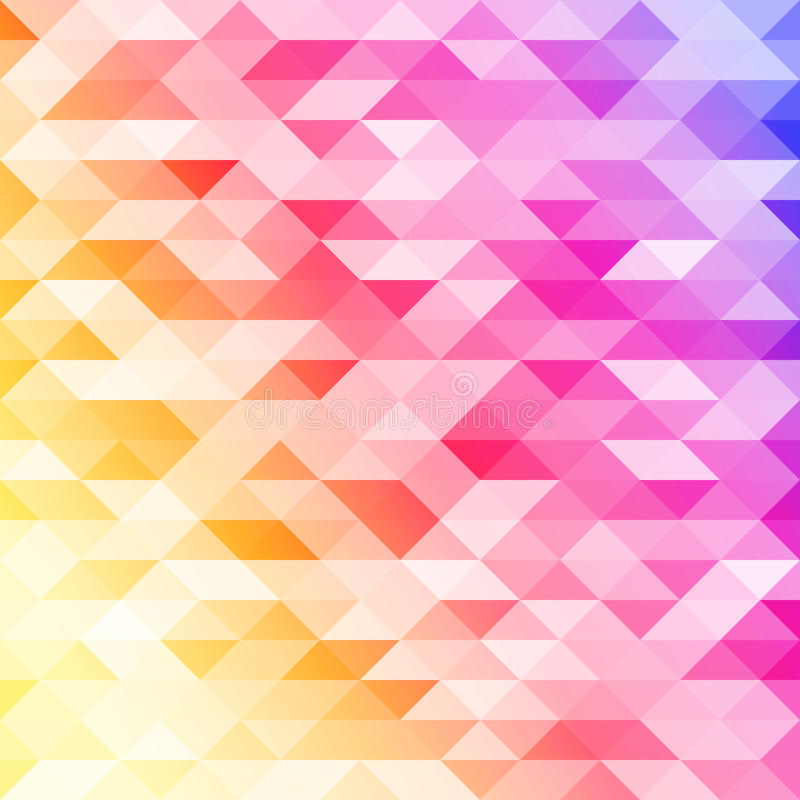 Abstract colorful lowpoly designed vector background. Polygonal backdrop. stock illustration