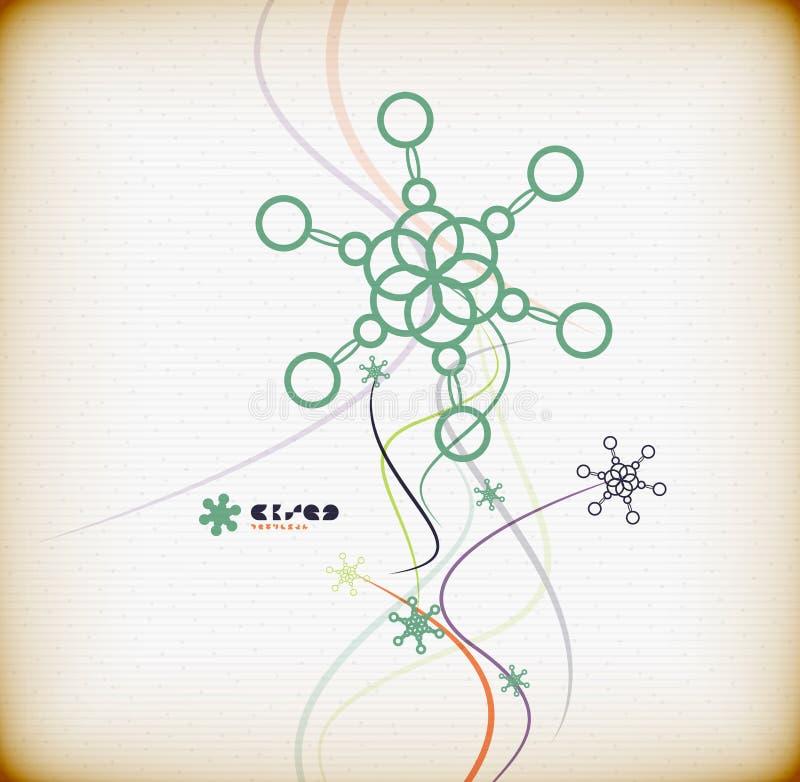 Download Abstract Colorful Minimal Christmas Card Stock Vector - Image: 34391044