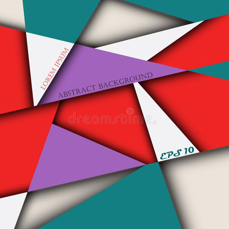 Abstract of colorful miracle brochure background. Presenting for your business details. vector illustration
