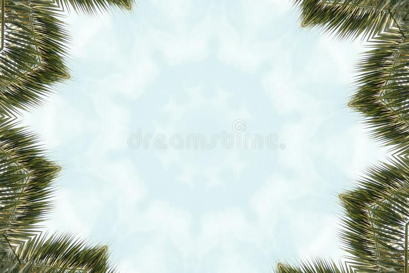 Abstract colorful modern circle mandala and kaleidoscope pattern vector illustration