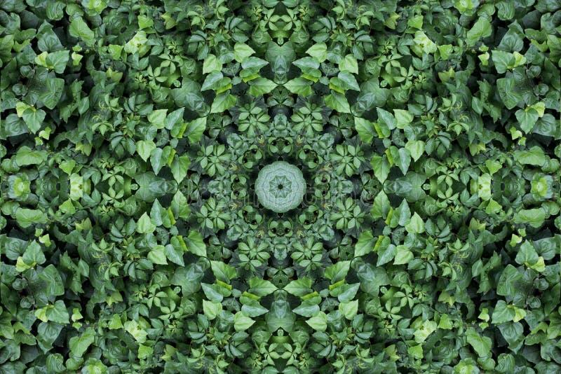 Abstract colorful modern circle mandala and kaleidoscope pattern royalty free stock photos