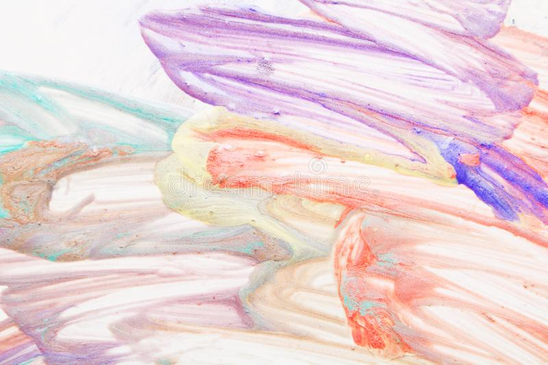 Abstract colorful natural handmade drawing background royalty free stock photo