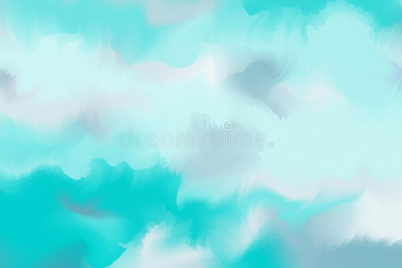 Abstract colorful pastel watercolor with copy space for place yo vector illustration