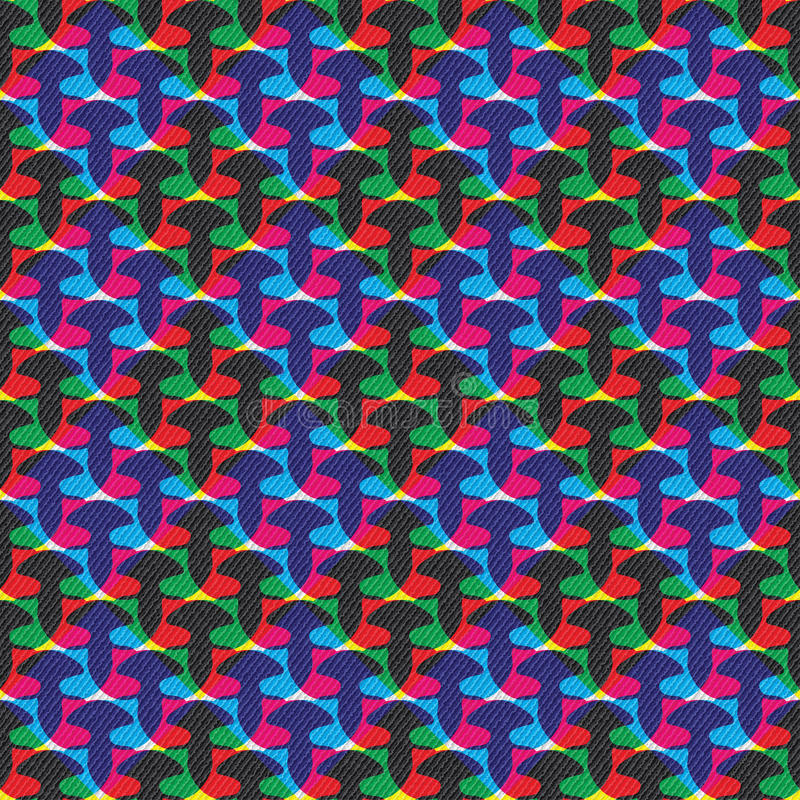 Abstract colorful pattern stock illustration