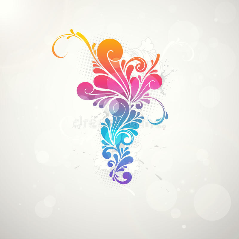 Free Abstract Colorful Pattern Splash Symbol Royalty Free Stock Photography - 20853797