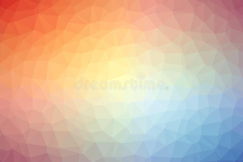 Abstract colorful polygon background or vector royalty free stock photo